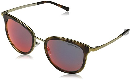 MICHAEL KORS Adrianna I, Gafas de Sol Unisex-Adulto, Multicolor (Dark Tortoise 11016P), 54
