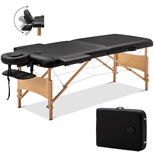 Table de Massage Pliante 2 Section Professionnel
