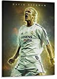 RZHSS Fußballstars David Beckham Poster Dekorative Malerei
