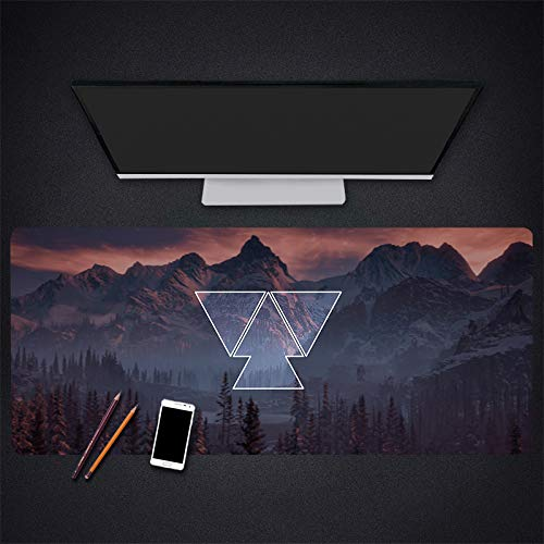 Uitgebreide Gaming Mouse Pad 300 * 700 * 3 Mm Rubber Mouse Pad Behang Desktop Laptop Mousepads Office Pc Pad Gamer Game Mousemats, 500 * 1000 * 3mm