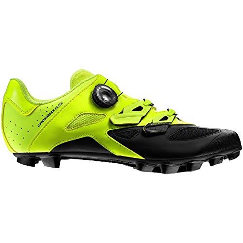 Mavic Crossmax Elite - Zapatillas Hombre - Amarillo/Negro Talla del Calzado UK 9,5 | EU 44...