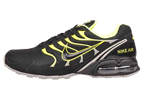 Nike Air MAX Torch 4 Hombre Running Trainers 343846 Sneakers Zapatos (UK 7 US 8 EU 41, Black Volt Grey 011)