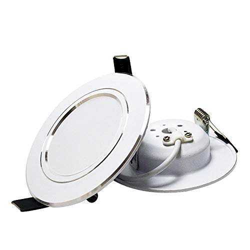 Downlight LED de alta potencia 3W 5W 7W 9W 12W 15W 18W LED Lámparas de baño de techo sala de estar Hogar Iluminación interior 230V-Cold_White_15W