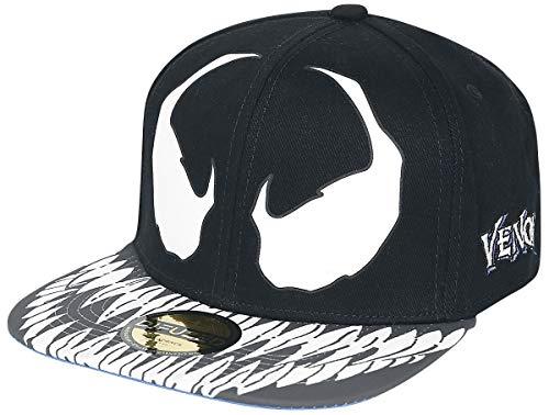 Venom (Marvel) Furious Männer Cap schwarz/blau one Size