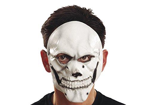 My other Me – Masque Motif crâne, Couleur Blanc (Viving Costumes 200349)
