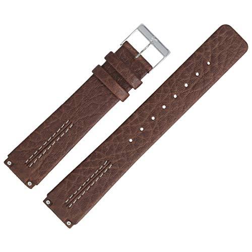 Skagen Uhrenarmband 18mm Leder Braun - 433LSL1