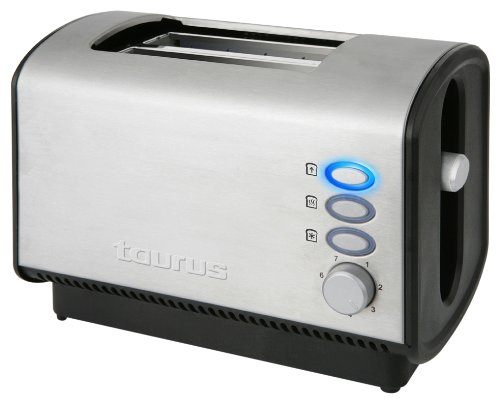 Taurus Legend Tostador Planet II Legen 850W 2 Ranuras, 850 W, Acero Inoxidable