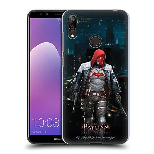 Head Case Designs Licenciado Oficialmente Batman: Arkham Knight Capucha Roja Personajes Carcasa rígida Compatible con Huawei Y7 (2019)