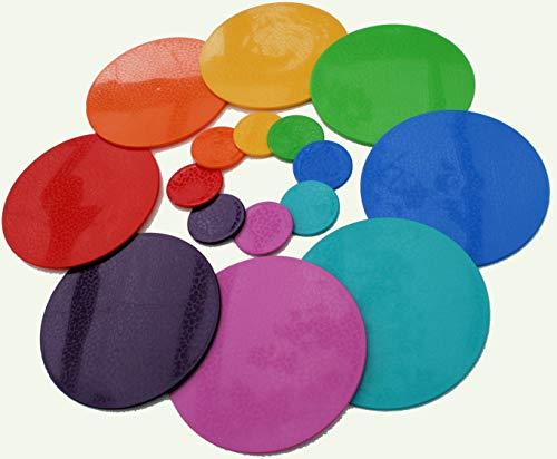 Intech-gecko. Lavabile in lavastoviglie Tovagliette e sottobicchieri. Set 8+8 Rainbow Mix Clicca qui sotto per vedere tutti i prodotti.