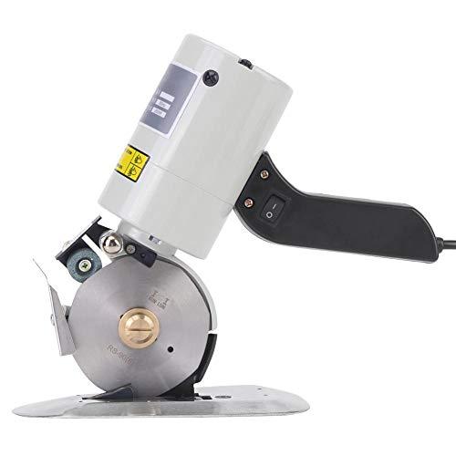 Cortador de tela giratorio eléctrico, cortadora de tela de cuchillo portátil de...