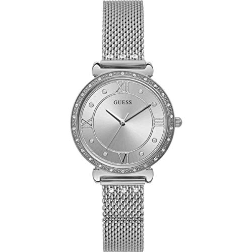 Guess Jewel W1289L1 dameshorloge, zilver, 34 mm