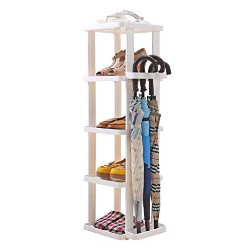 Shoe Rack Shoe Rack Shoe Rack Plastic Multilayer High Capacity Shoe Box Dorm Room Household Easy Space Saving Storage Small Shoe Rack
