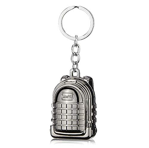 Amara Porte-clés Briquet,USB Rechargeable Allumeur ,Sac à Dos de Jeu(Apparence) sans Flamme,Portable,Mini,Mode/Fun/personnalité/Objets de Collection,Black