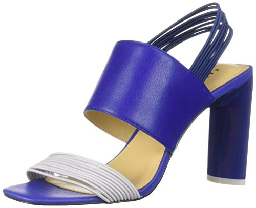 Katy Perry Women's The Corry-Mini Elast. Strch/SM.TMBLD Heeled Sandal, surfer blue, 11 M Medium US