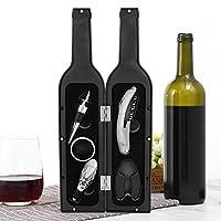 durevole foil cutter anello di gocciolamento aeratore versatore 5pcs / set set regalo vino, kit apribottiglie multifunzione, per casa kit di apertura bottiglia di vino nero accessorio da
