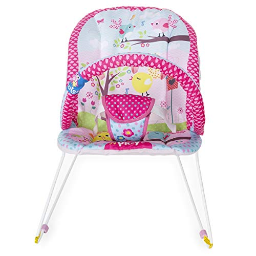 Cadeira de Descanso Jardim Protek - Rosa