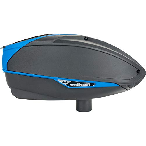 Valken Paintball VSL Tournament Electronic Loader (Black/Blue)