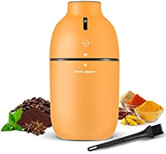 RANBEM Coffee Grinder Electric, Spice Grinder, Coffee Bean Grinder with Stainless Steel Blades, Small Electric Burr Grinder for Coffee Beans, Spices, Nuts and Grains, One-button Control, 150W