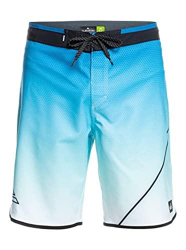 Quiksilver Surfsilk New Wave 20' Pantalones Cortos de Tabla, Blithe, XXL para Hombre