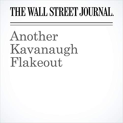 Another Kavanaugh Flakeout copertina