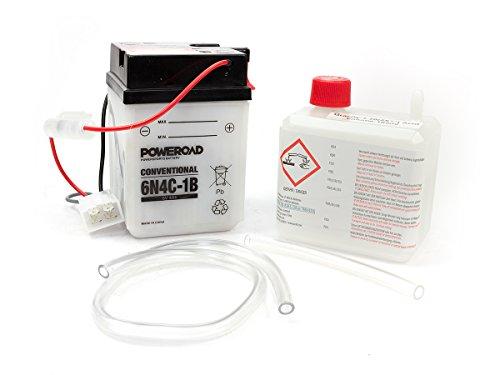Batterie 6N4C-1B 6 Volt Poweroad für H o n d a