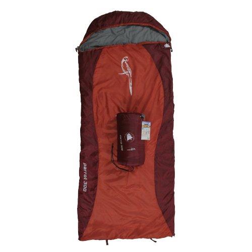 10T Outdoor Equipment 10T1642-4260181764047 Kinderschlafsack, rot, XL