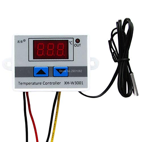 XH-W3001 Digital Control Temperature Microcomputer Thermostat Switch 120W 12V -B119