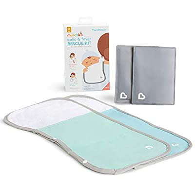 Munchkin TheraBurpee Colic & Fever Rescue Kit with Hot & Cold Therapy Burp Cloths from AmazonUs/MUNO9