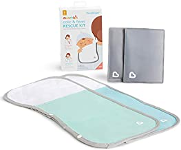 Munchkin TheraBurpee Colic & Fever Rescue Kit with Hot & Cold Therapy Burp Cloths