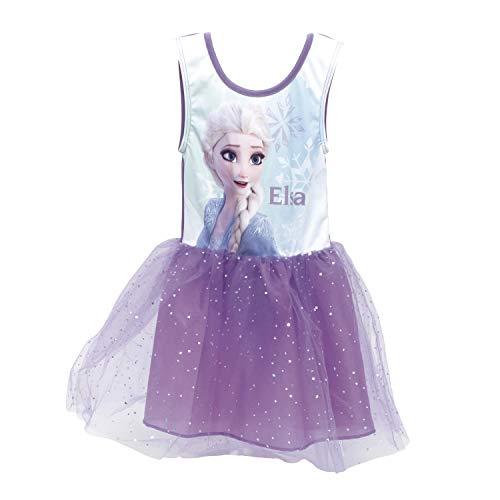 Frozen Kleid Sommerkleid Ballettkleid Mädchenkleid Die Eiskönigin Anna Elsa Olaf Sven (4 Jahre)