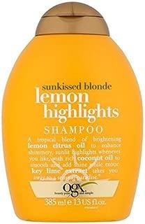 Ogx Blonde Lemon Highlights Shampoo 385ml
