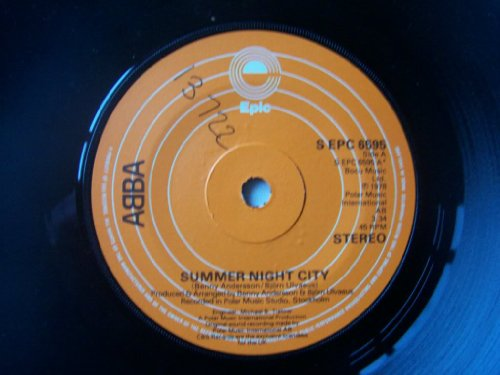 "ABBA Summer Night City UK 7"" 45"