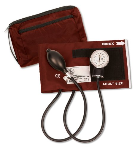 Prestige Medical 882-BUR - Tensiómetro con estuche de transporte, color burdeos