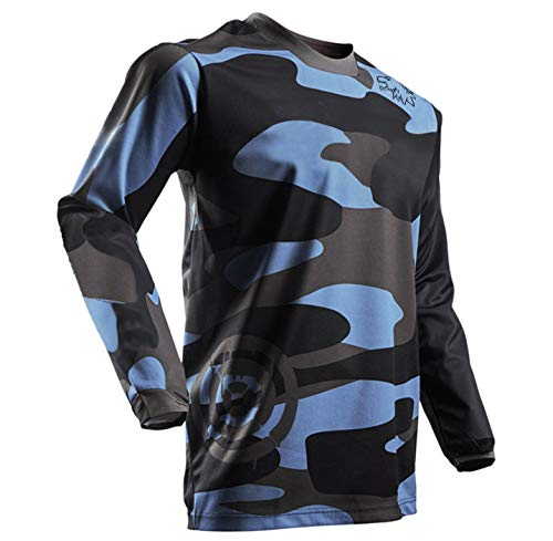 Mens Cycling Jerseys Mountain Bike Jerseys MTB Bike Bicycle Shirts - Breathable and Quick Dry