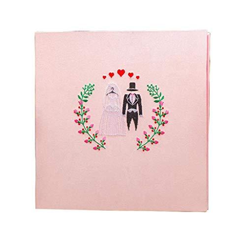 YEE 18 pulgadas hecha a mano BRICOLAJE Álbum de fotos, Tipo de Pegar DI Álbum de fotos, álbum de fotos de bodas, álbum de fotos de pareja, regalo de año nuevo, caja de regalo (color: azul blanco inter