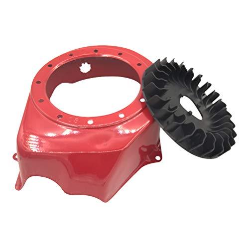 Cancanle Rückstoß Schwungrad Lüfter Gehäuse Abdeckung Verkleidung für HONDA GX160 GX200 168F 5,5HP 6.5HP Motor Generator Wasserpumpe