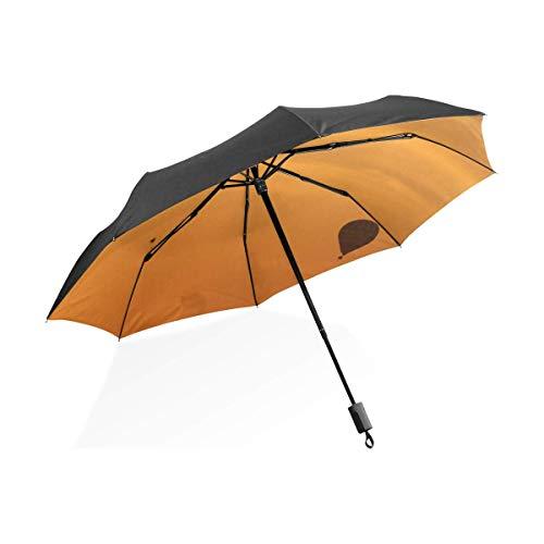 Compacto Fácil de Llevar Paraguas Impermeable Bloqueador Solar Globo aerostático Sombrilla para Cielo Resistente al Viento