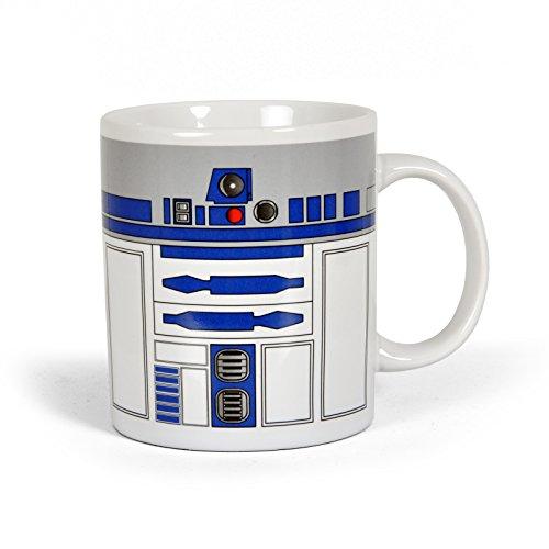 Elbenwald Star Wars R2-D2 Droiden Tasse in Geschenkbox Keramik originelles Geschenk