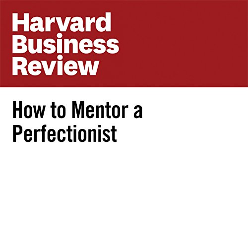 How to Mentor a Perfectionist audiobook cover art