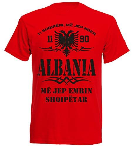 aprom Albanien T-Shirt Tribal 10 R (2XL)