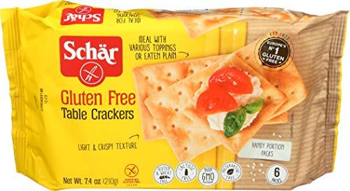 Schär Gluten Free Table Crackers, 7.4 oz., 6-Pack