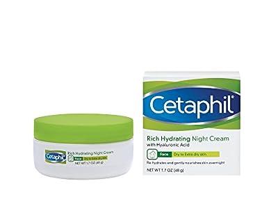 Cetaphil Rich Hydrating Night Cream, 1.7 oz