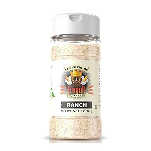 Flavor God #1 Best-Selling, Ranch Seasoning, 5.5 Ounce