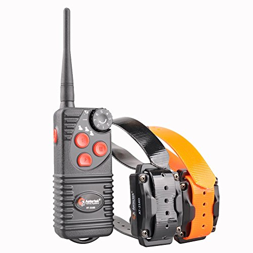 Aetertek Electric Dog Shock Collar 600 Yards Remote Dog Training E-Collar Beep/Vibration/Shock Rechargeable Submersible Train up to 3 Dogs (1 Dog)