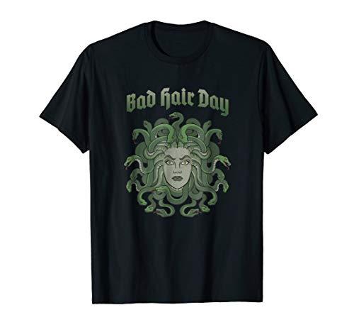 Funny Medusa BAD HAIR DAY T-Shirt Greek Myth TShirt