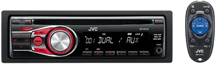JVC KD-R320 Vehicle CD Receiver with Dual AUX