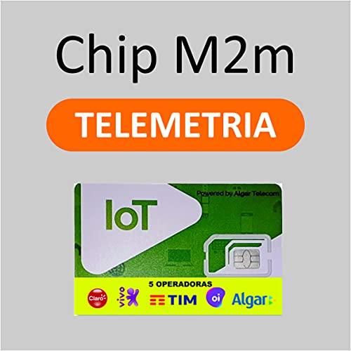 Chip M2M Multi Operadoras para Rastreador Veicular