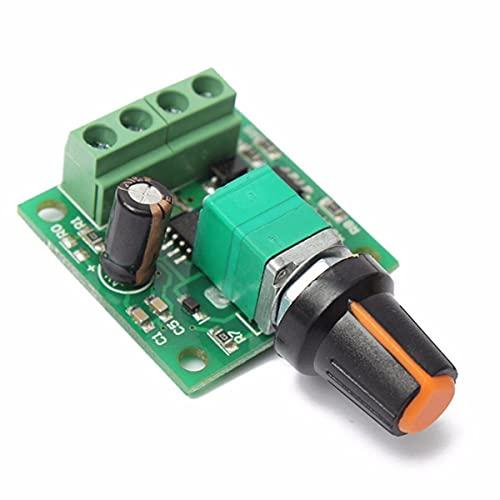 Módulo electrónico Regulador de velocidad Motor DC 1.8V 3V 5V 6V 12V 2A 0~100% ajustables del módulo de transmisión 1803B 10pcs Equipo electrónico de alta precisión