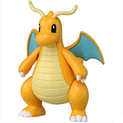Yzoncd Pokemon Figuren Kairyu Alloy Model Taschenmonster Anime Baby Spielzeug Metacolle Diecast Pop Bauble 6Cm
