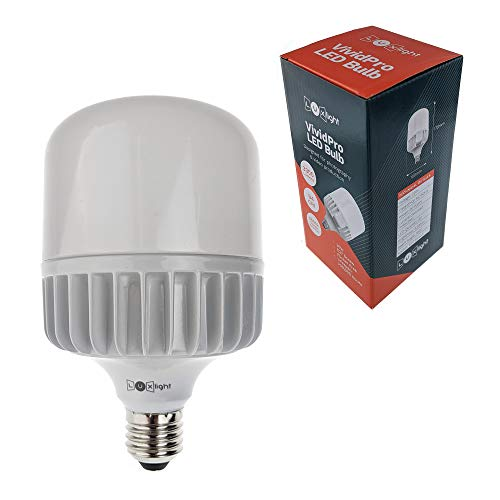 Tageslicht LED E27 Glühbirne   Luxlight® Vivid Pro   CRI 94 / 5500k   für Video & Fotografie (50)